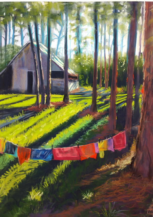 Dirty Laundry, Heritage Museum, Shawn De