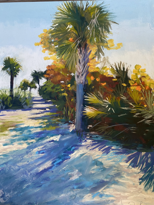 Indian Rocks Beach 12x16 Pastel