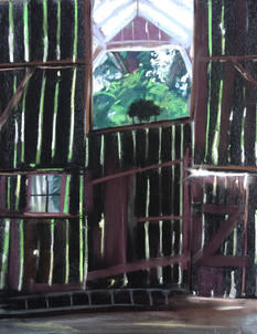 View from Inside, ShawnDellJoyce, Pastel