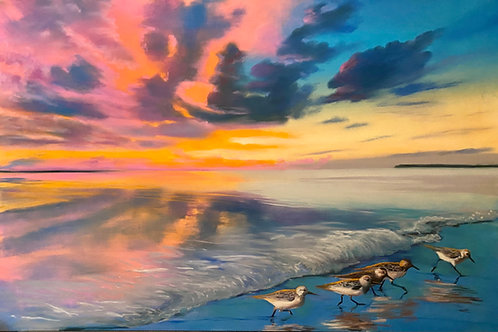 Capturing Sunsets in Pastel Online Class