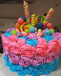 Little girls are the best #cake designer