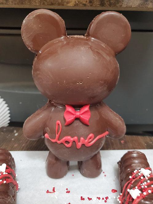 Breakable Chocolate Bear