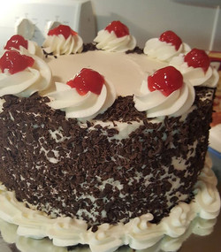 #Classic Black Forest cake