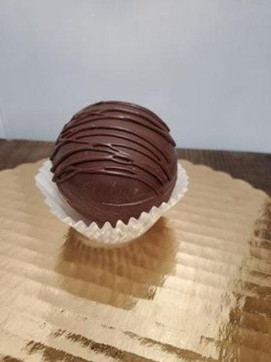 Mini Vegan Hot Cocoa Bomb - Chocolate