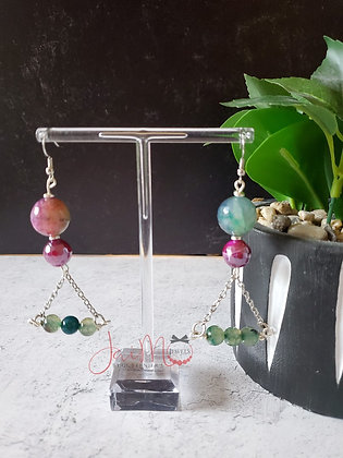 Berry Bling earrings