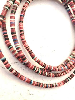Vinyl Disc waist beads