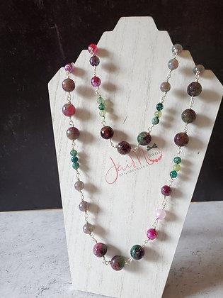 Berry Bling beaded chain