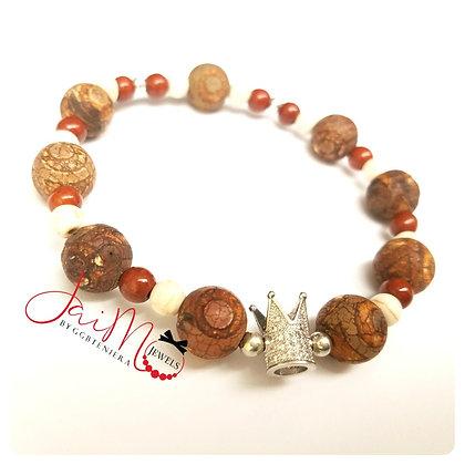 Natural Crown bracelet