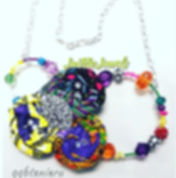 Afrocentric Bib necklace