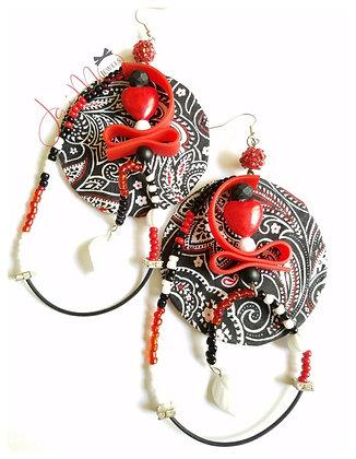 Jokers Wild earrings
