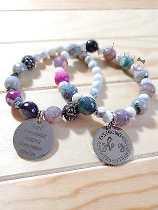 Crisp in Color bracelet set