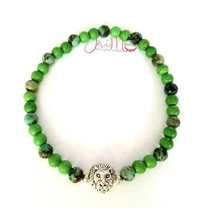 Lime Leo bracelet