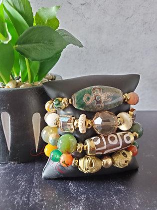 Tibetan Fever bracelet set