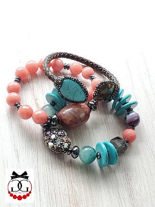 Manifest bracelet set