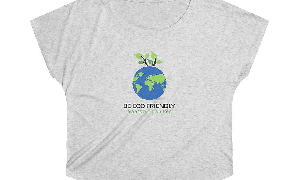 BE ECO FRIENDLY Women's Tri-Blend Dolman