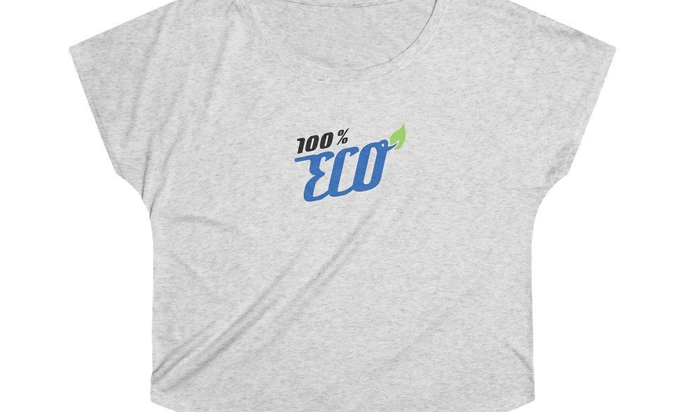 100% ECO Women's Tri-Blend Dolman