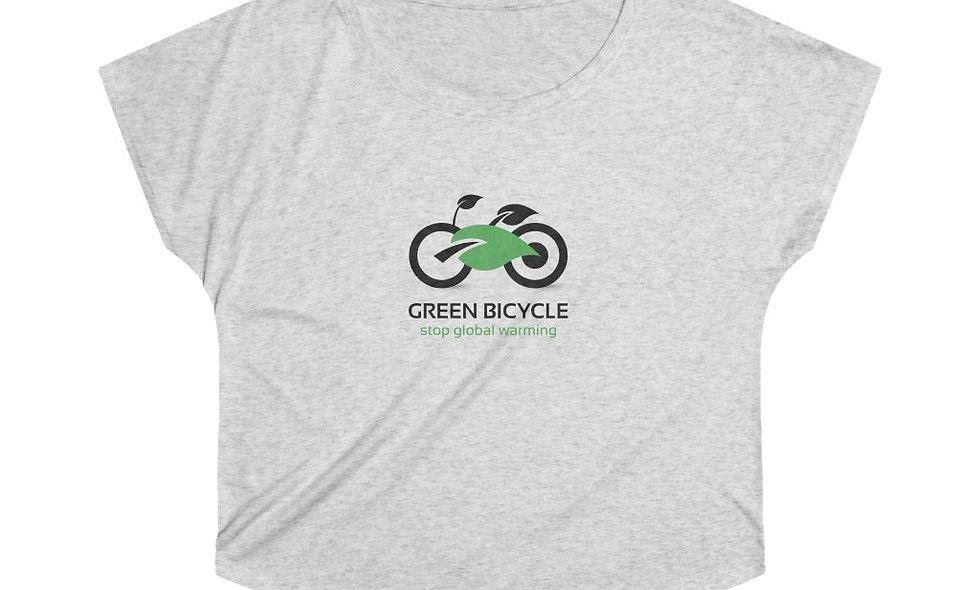 GREEN WHEELS Women's Tri-Blend Dolman