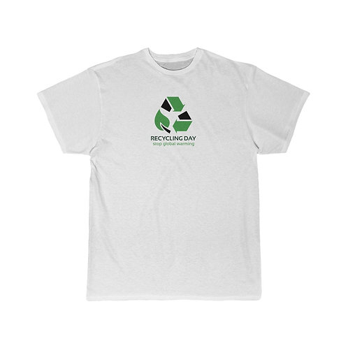 RECYCLING DAY Men's Short Sleeve Tee