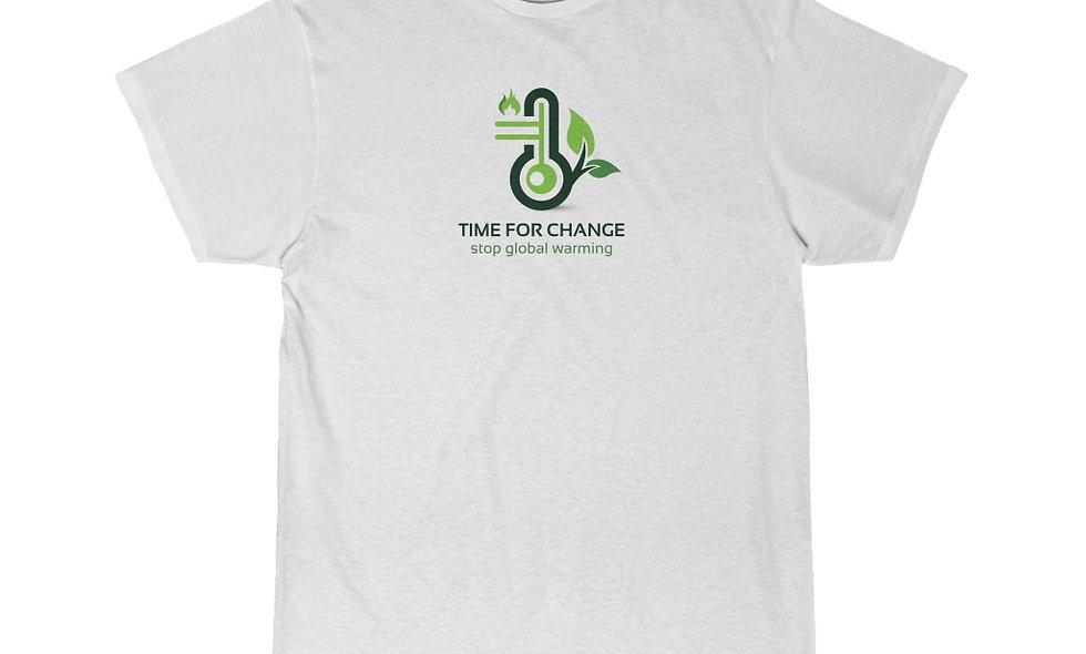 TIME FOR CHANGE Men's Short Sleeve Tee