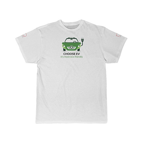 CHOOSE ELECTRIC VEHICLE Men's Short Sleeve Tee