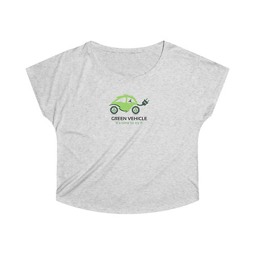 GREEN VEHICLE Women's Tri-Blend Dolman
