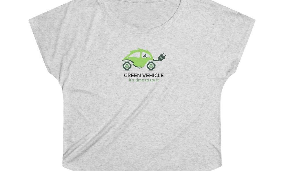GREEN RIDE Women's Tri-Blend Dolman