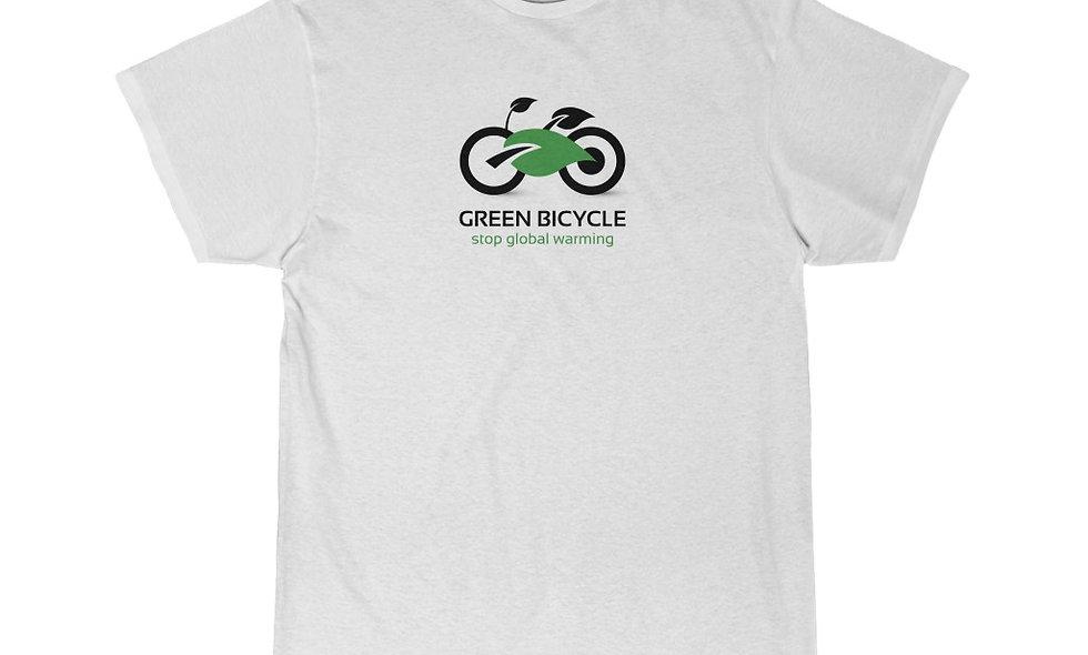 GREEN WHEELS Men's Short Sleeve Tee