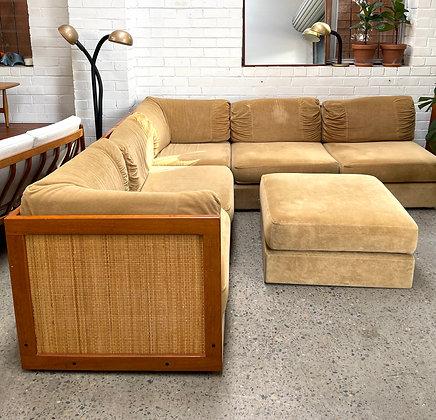 Parker 70's corner sofa