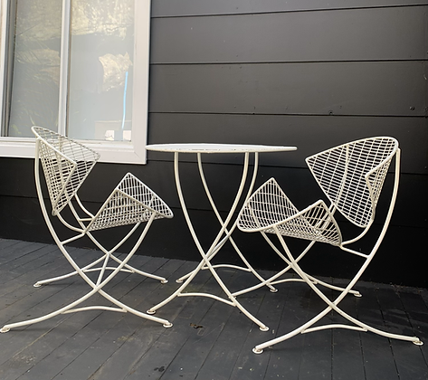 Breotex outdoor setting/pair chairs