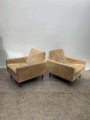 Parker '303' Armchairs/Pair