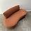 Thumbnail: Curvy kidney vintage sofa