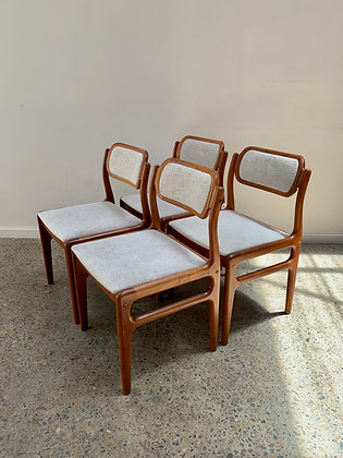 Johannes Andersen Chairs | Set of 4