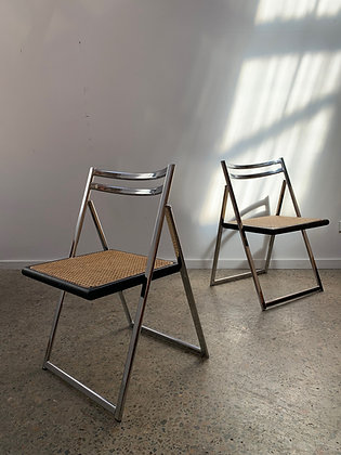Italian folding chair/single