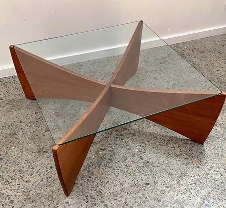 Original TH Brown 'Venus' coffee table