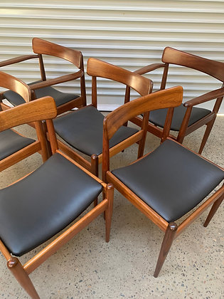 Parker 'Nordic' chairs  | Set of 6