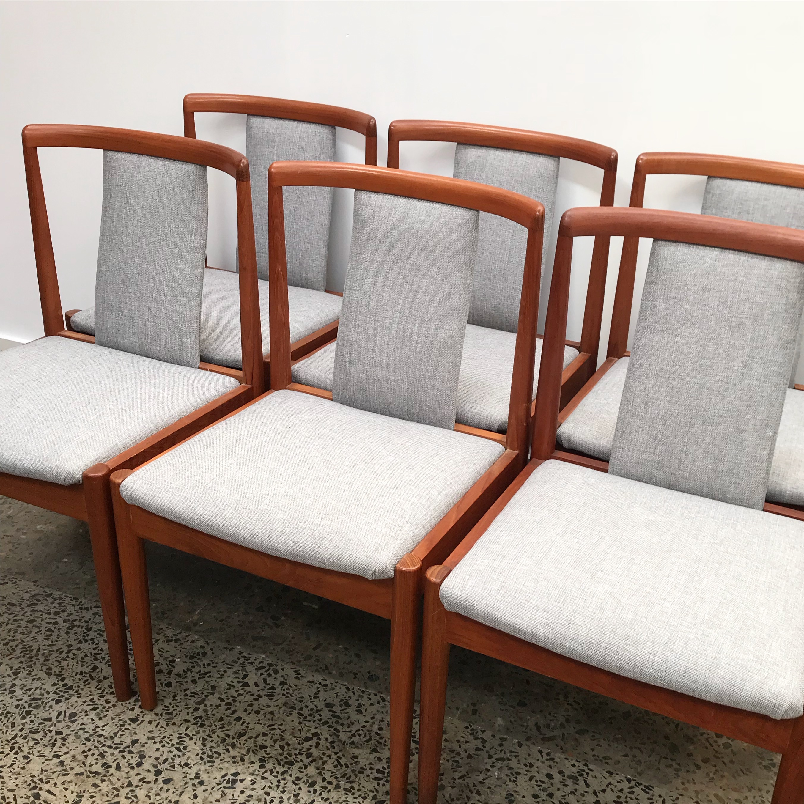 Parker T-back chairs