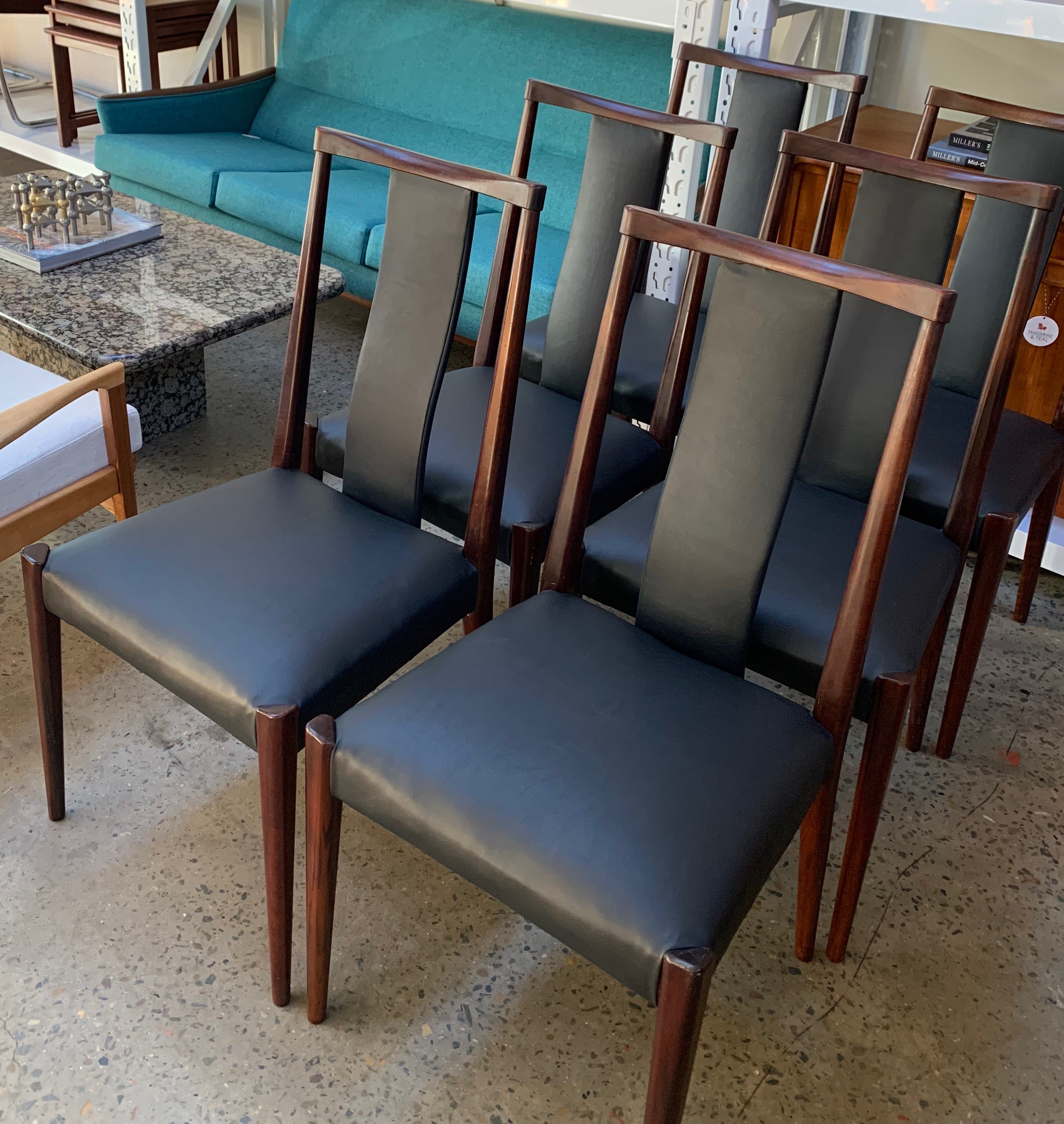 Danish dining chairs