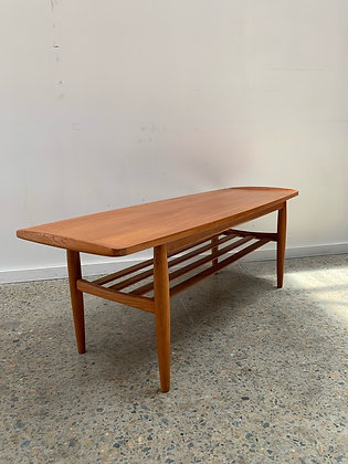 Parker upturned end coffee table