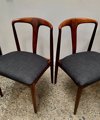 Johannes Andersen Dining Chairs/x 6