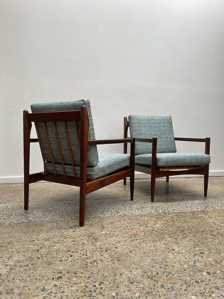 Mid century Armchairs | Pair