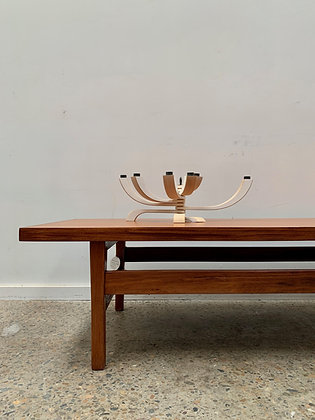 Mid century large coffee table