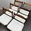 Thumbnail: Fler '64' dining chairs/ set 6
