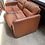Thumbnail: 80's 2 seater leather sofa