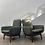 Thumbnail: Danish De Luxe 'Ziva' armchair/pair