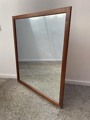 Parker teak framed floor mirror