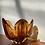 Thumbnail: Amber glass vase