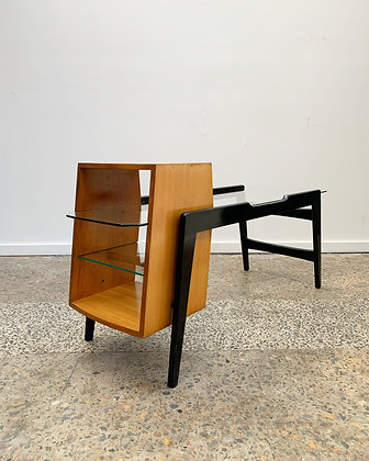 50's Atomic side table