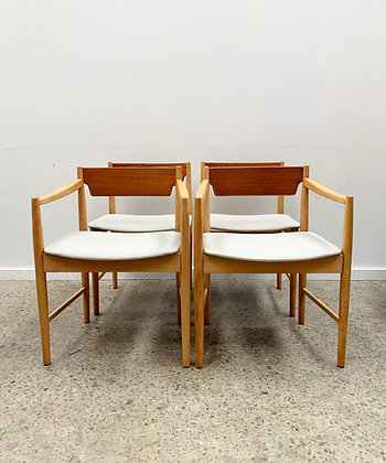Polish dining table & chairs