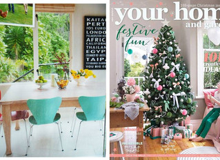 """Your Home and Garden"" magazine featuring Vanessa's artwork"