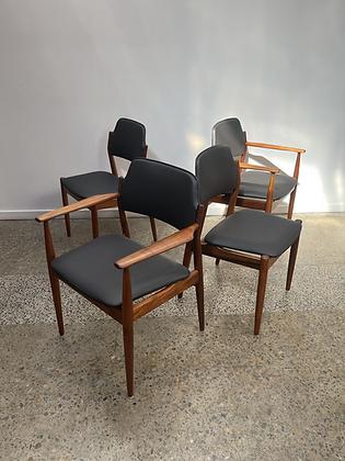 Arne Vodder Dining Chairs